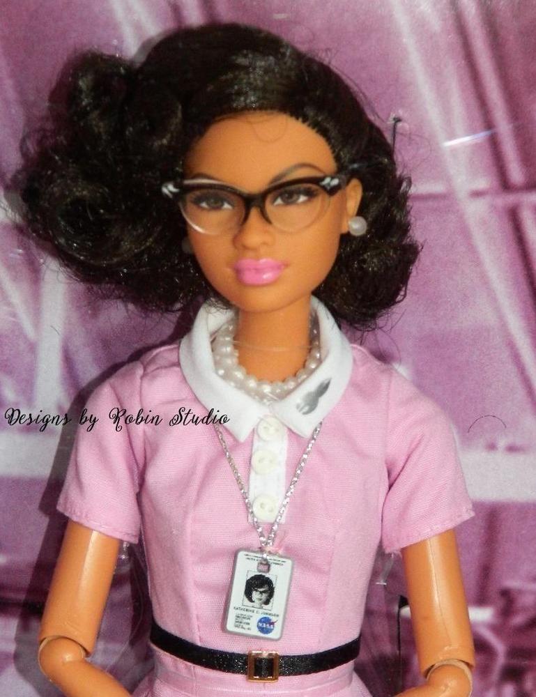 Barbie Inspiring Women Katherine Johnson Doll New by Mattel