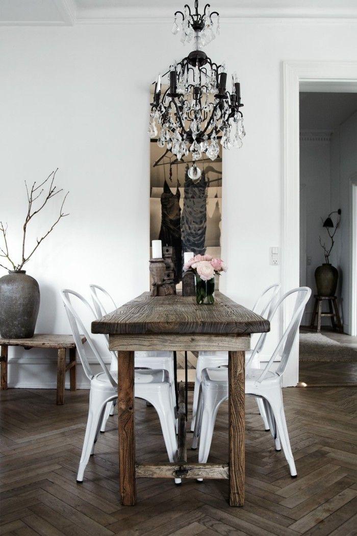 Elegant Skandinavisch Einrichten Das Esszimmer Nordisch Gestalten Mit Shabby Chil  Elementen