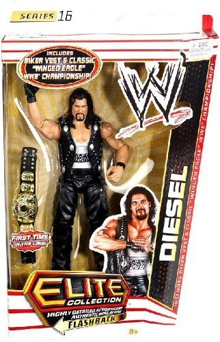 WWE Mattel Diesel Network Spotlight Exclusive Elite Series Figure