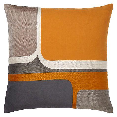 john lewis geo cushion nordic blue cushions loft. Black Bedroom Furniture Sets. Home Design Ideas