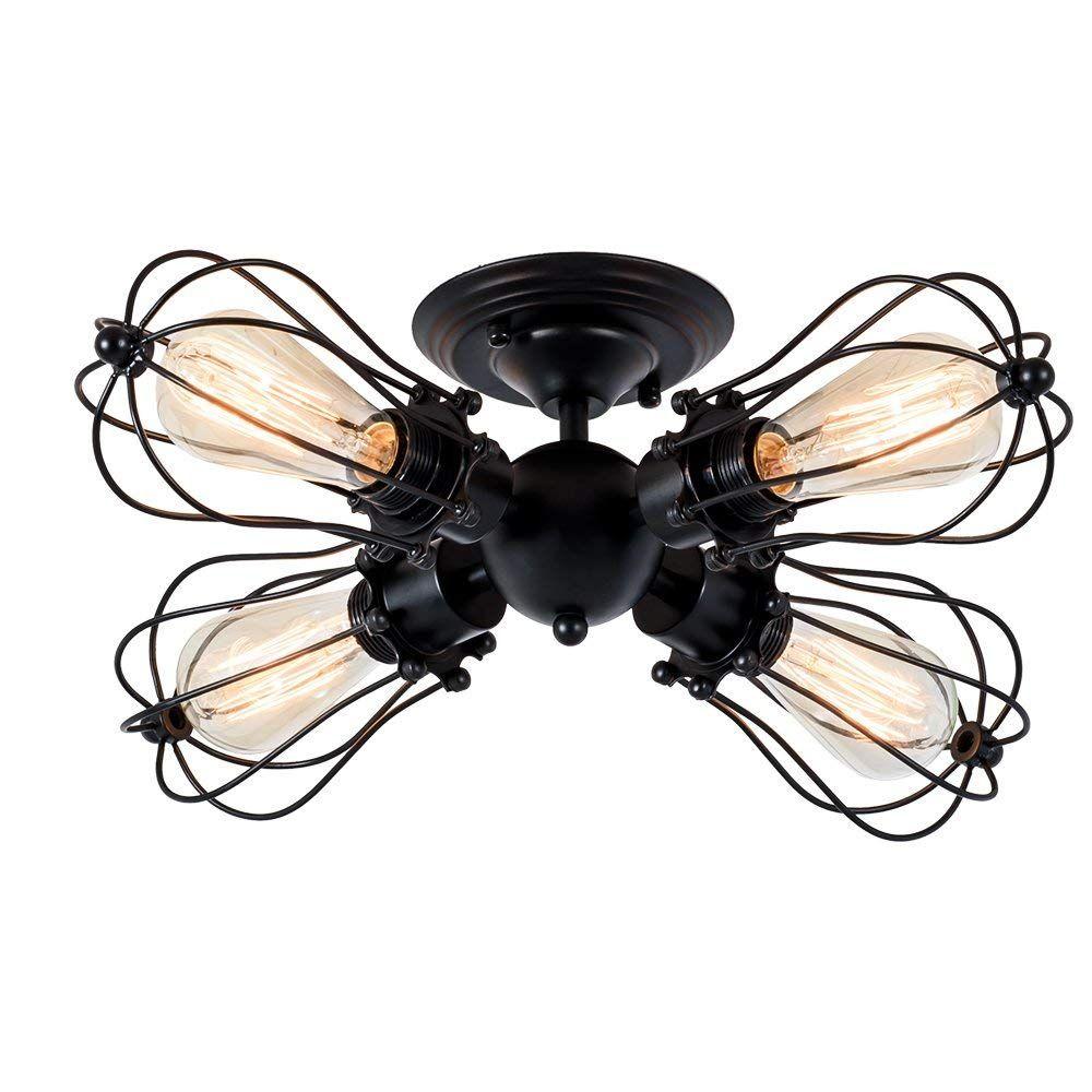 Deckenleuchte Retro Metall Deckenleuchte Antik Retro Lampe Fur