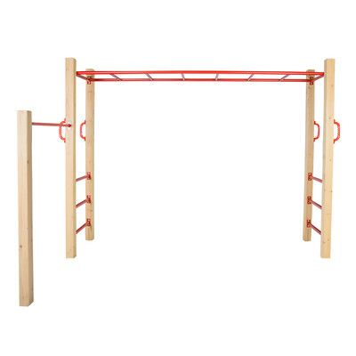 Outward Amazon Monkey Bars Swing Set U0026 Reviews | Wayfair