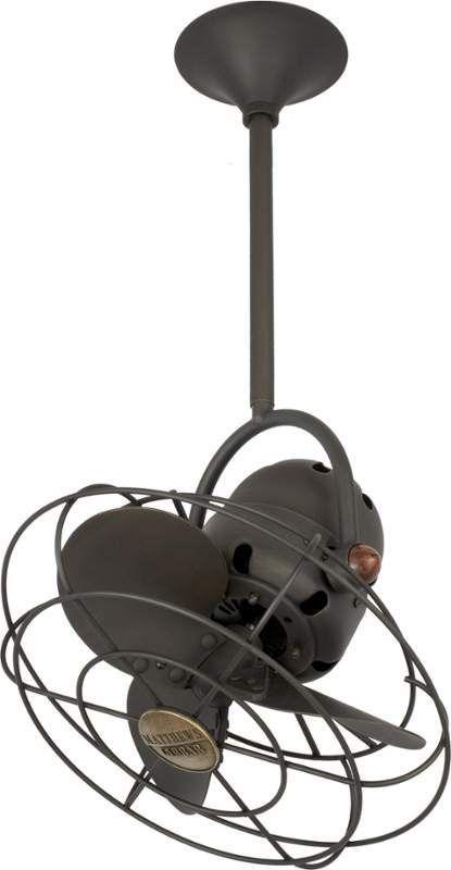 Matthews Fan Company Bd Bz Mtl Bronze Bianca Directonal 13 Ceiling Fan Blades And Wall Control Included In 2020 Bronze Ceiling Fan Vintage Ceiling Fans Ceiling Fan