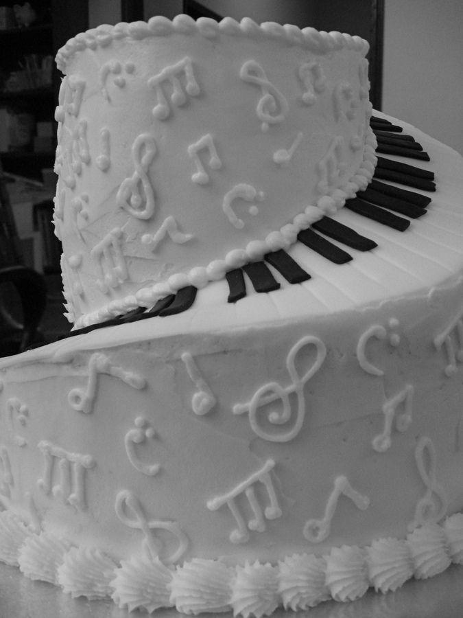 piano cake -   14 cake Birthday music ideas
