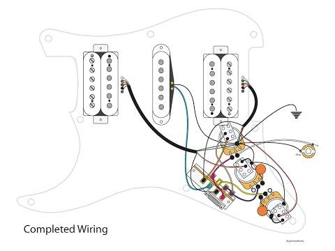 DIY 7Way Switch and Dual Tone Stratocaster Mod  YouTube