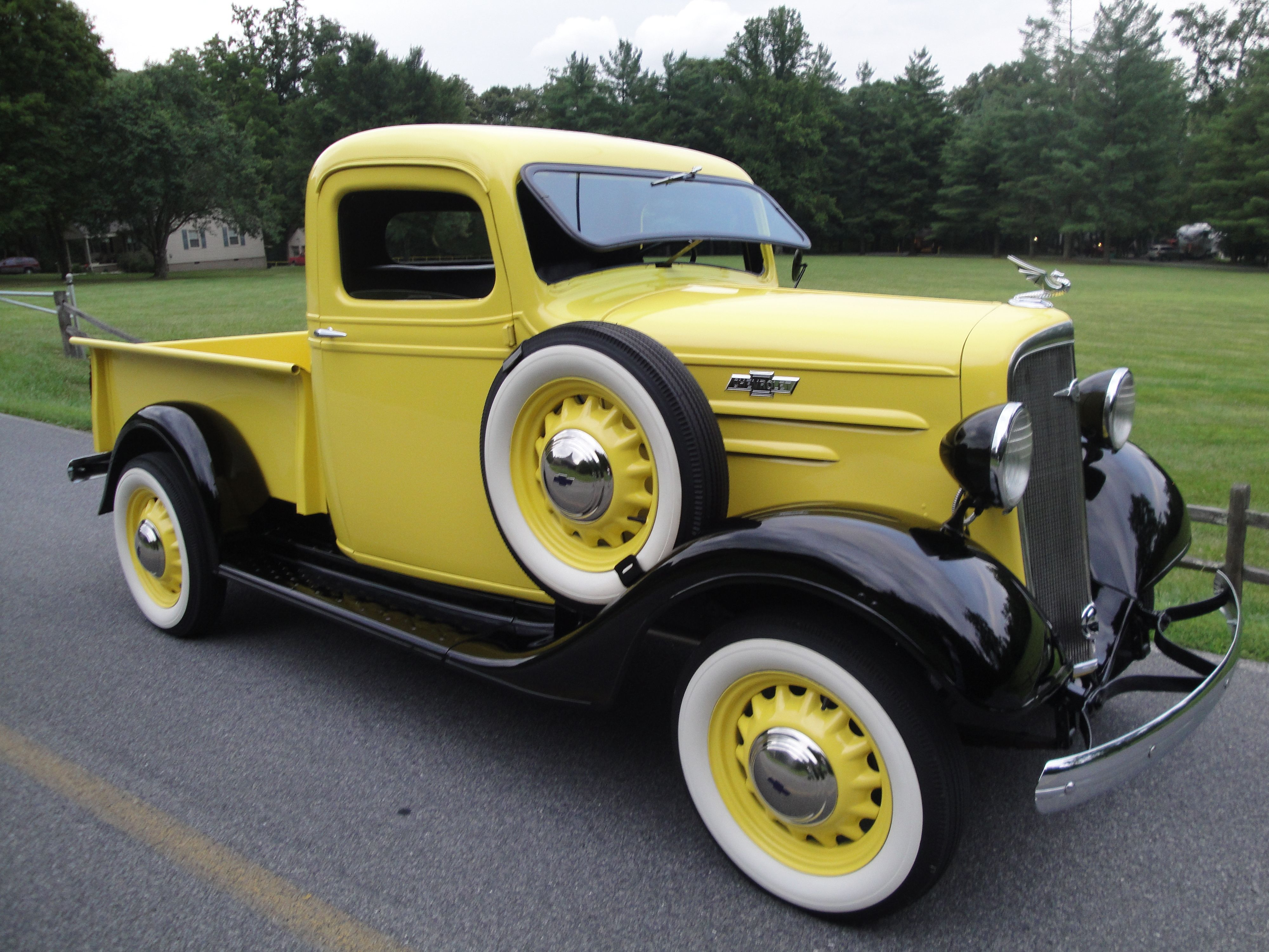 1936 Chevrolet 1 2 Ton Pickup Is It The Only 36 Chevy On The