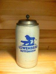 Bierkrug Löwenbräu Buttenheim