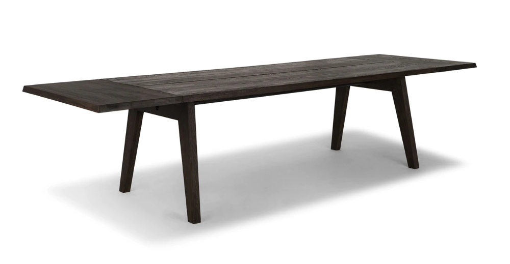 Madera Oak Dining Table Extendable Dining Table Midcentury