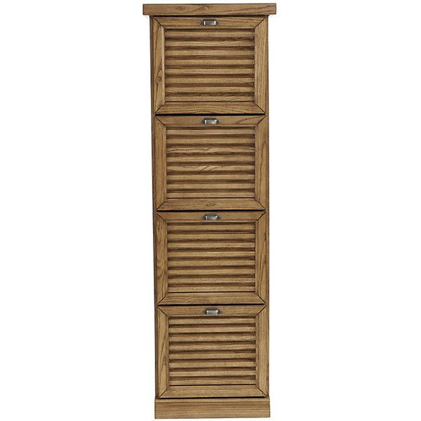Merveilleux Ballard Designs Sommerville 4 Drawer Tall File Cabinet (800 CAD) ❤ Liked On