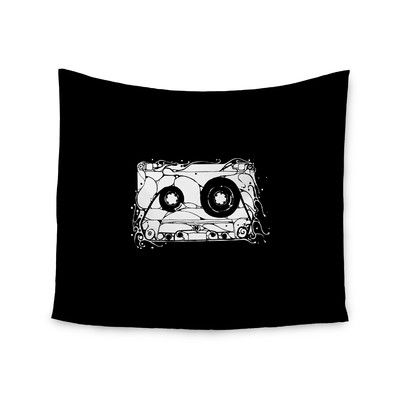 """East Urban Home """"Cassette"""" by BarmalisiRTB Wall Tapestry Size: 68"""" H x 80"""" W"""