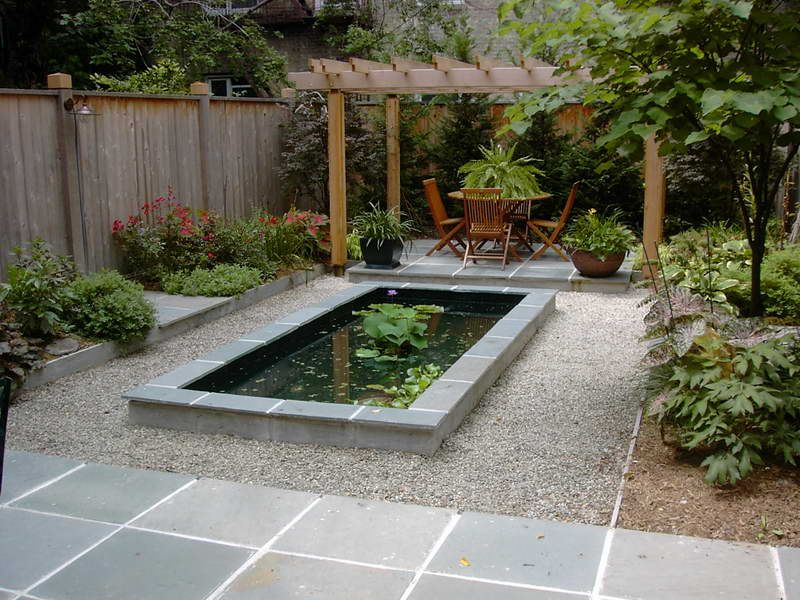 pond design ideas in garden with pergola with shades cool garden pond - Garden Ponds Design Ideas