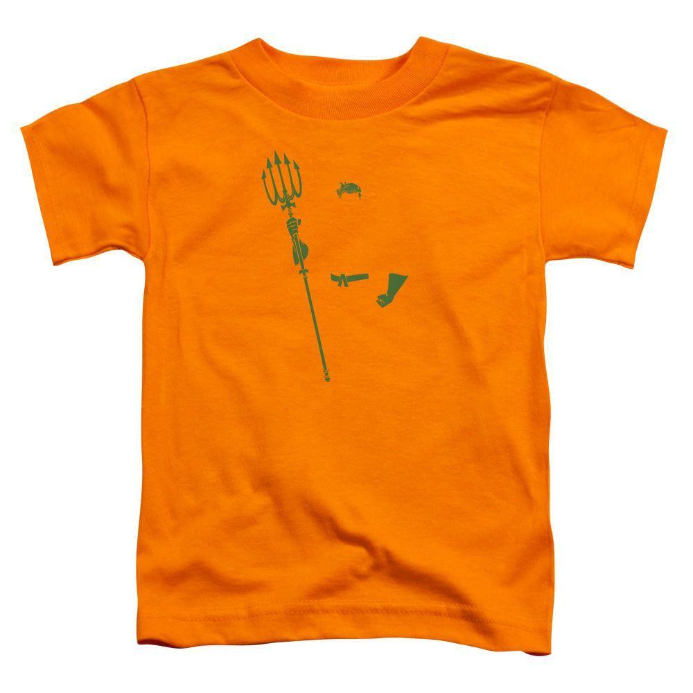 Aquaman Aqua Min Orange Toddler T-Shirt