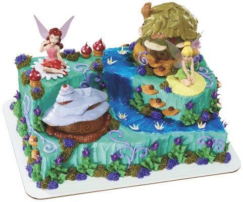 Disney Fairies Pixie Hollow Signature Cake DecoSet Disney Cakes