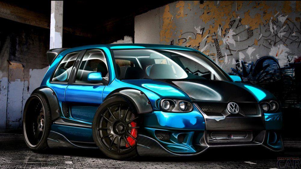Photo racing car Volkswagen golf gti w12 650 concept | Fondos de pantalla  de coches, Coches geniales, Fotos de carreras