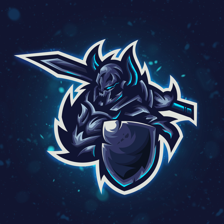 Dark Knight Esports Logo Done On Fiverr Please Click Image For Link Logo Design Art Logo Illustration Design Art Logo
