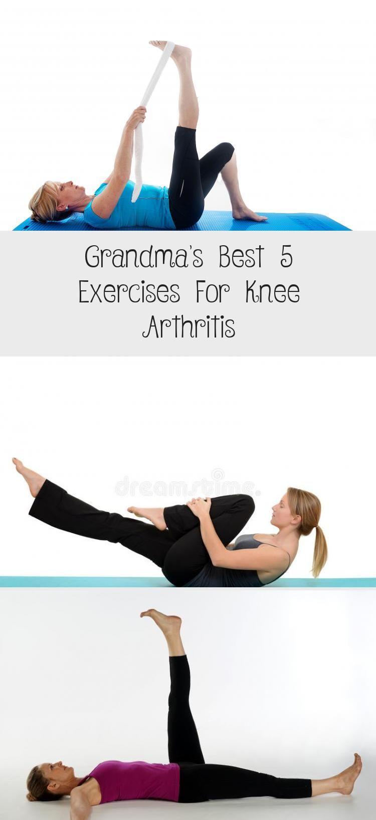 Grandma's Best 5 Exercises For Knee Arthritis #knee #arthritis #exercises #fitness #FoodandDrinkExer...