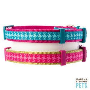Martha Stewart Pets Houndstooth Dog Collar Martha Stewart Pets Dog Petsmart Dog Collars Leashes Puppy Supplies Martha Stewart Pets