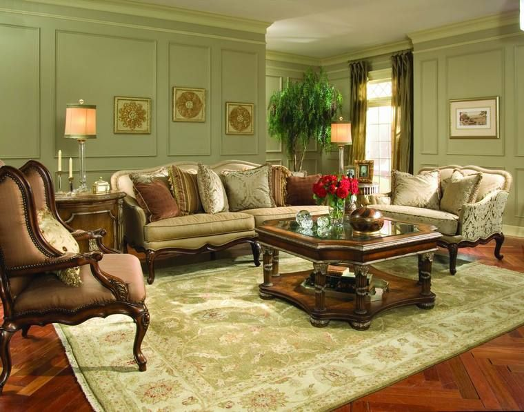 How To Get Victorian Style Living Room In Your Homes