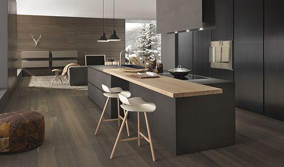 Stampe Cucina Moderna : Composizione cucina blade modern kitchens cucine