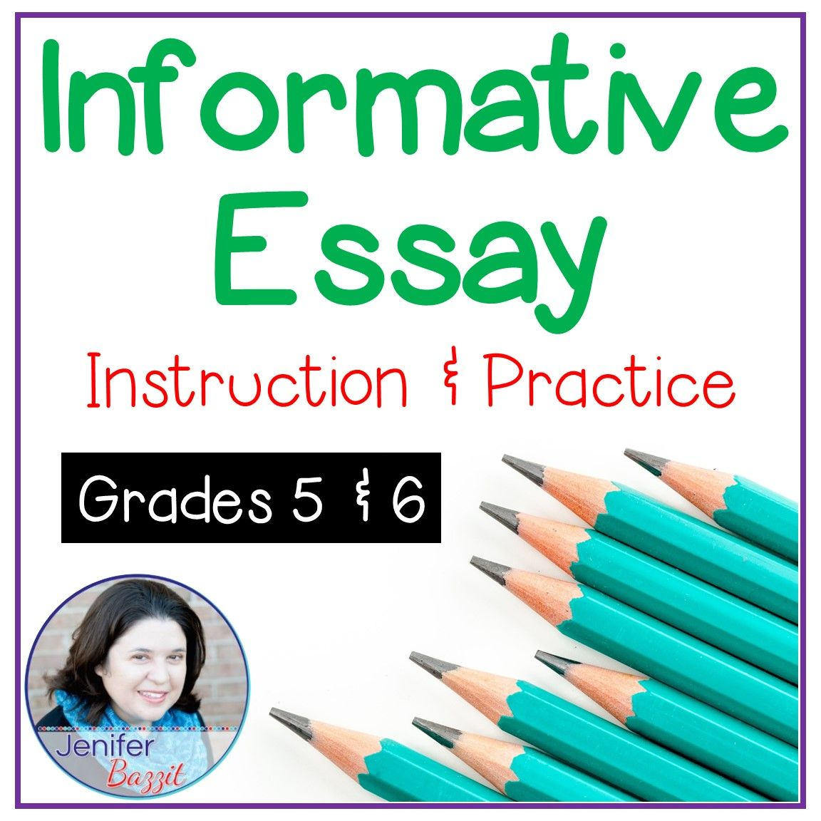 Informative Essay Instruction And Practice  Essay Structure