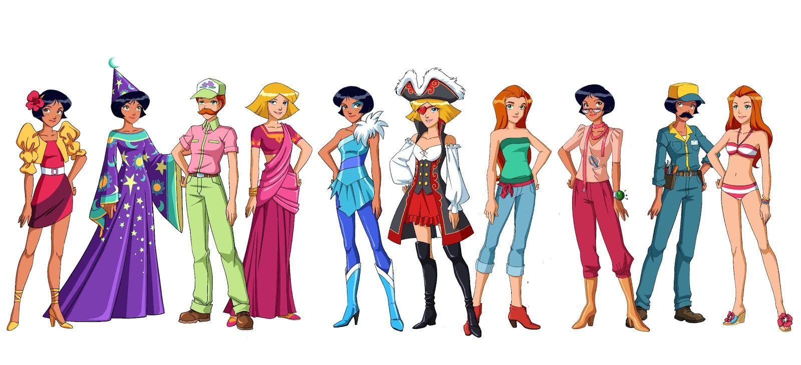 Totally spies season 6 character designs totally spies dessin anim anim - Dessin anime de totally spies ...