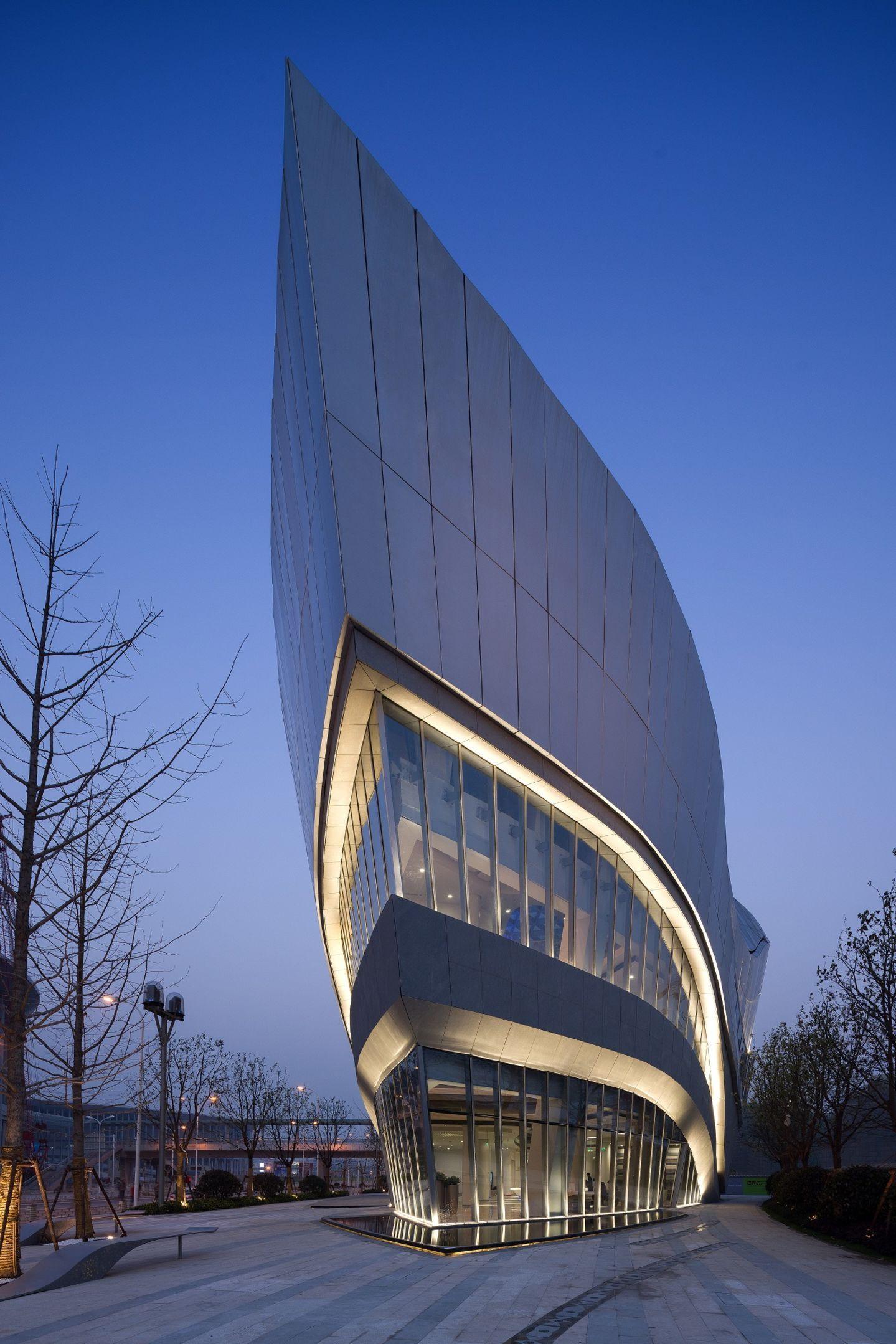 AuBergewohnlich Aedas · Shanghai Hongqiao World Centre · Divisare Moderne Architektur,  Futuristische Architektur, Architektur Visualisierung