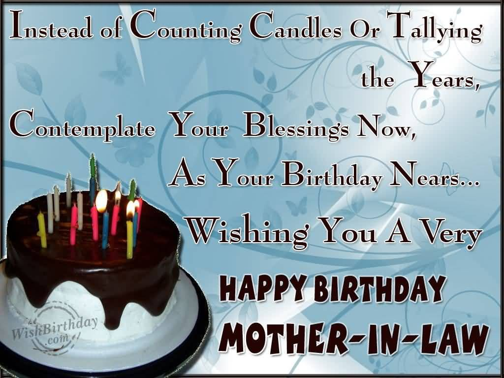 Free Funny Birthday Wishes For Mother Law The Quotes Land Off Sweet