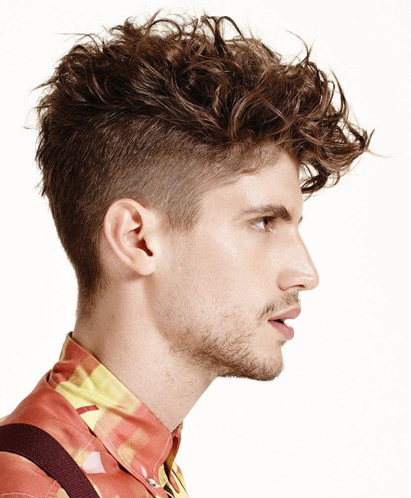 2016 men's trendy undercut hairstyles for curly hair | men's