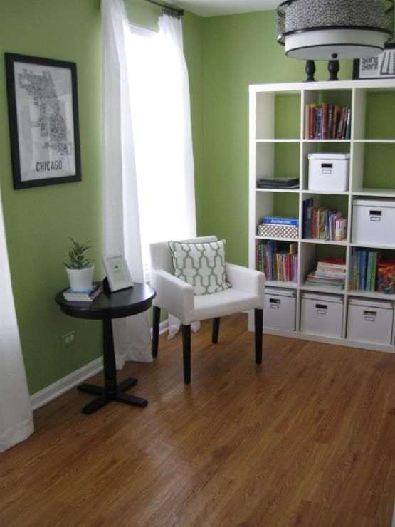 Love This Apple Green Color For A Future Office Redo At