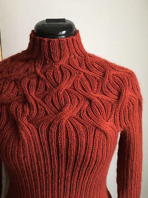Botanical Yoke Pullover pattern by Purl Soho   Crotcheting and