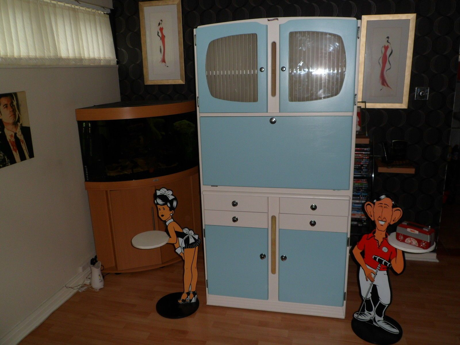 Shefco Kitchenette Retro Classic Kitchen Cupboard Cabinet 1950s 1960s Classic Kitchens Retro Kitchen Cupboards