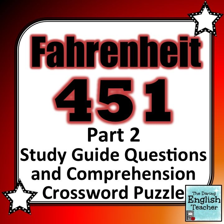 Fahrenheit 451 part 2 study guide questions and comprehension fahrenheit 451 part 2 study guide questions and comprehension crossword puzzle fandeluxe Image collections