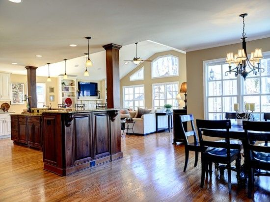 Open kitchen great room brookhaven archives atlanta - Open kitchen designs with living room ...