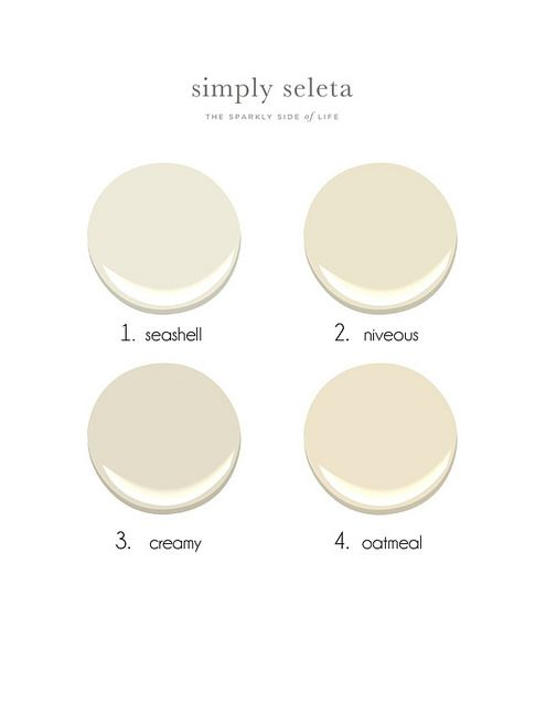 Benjamin moore creams creamy white white paints and for Neutral cream paint color