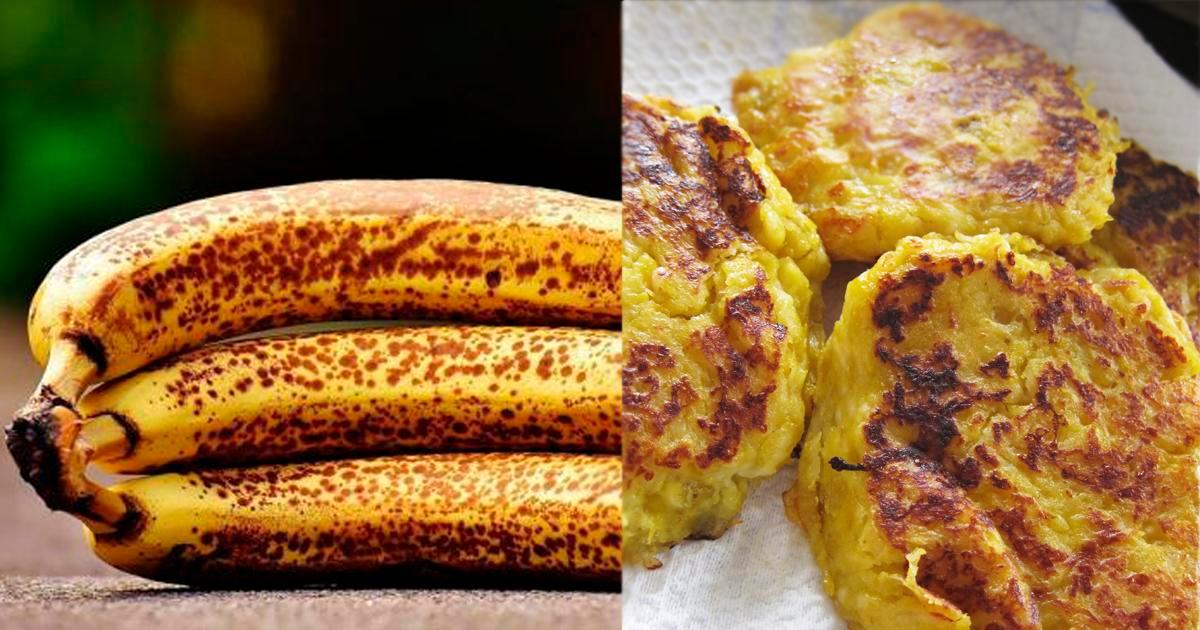 Tortilla De Plátano Maduro Con Avena Cómo Preparar Receta Fácil Comida Saludable Desayunos Torta De Platano Maduro Tortas De Plátano Postres Con Platano