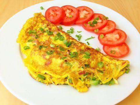 Easy Western Omelette - YouTube