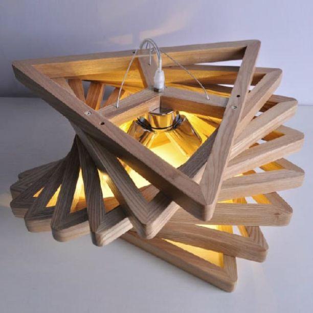 Amazing Wood Lamp Sculpture for Home Decoratios 24