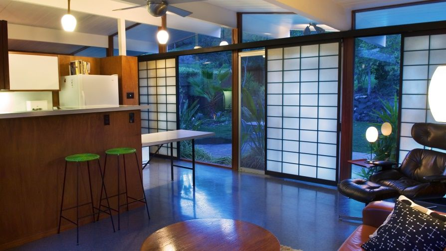 Eichler Window Coverings For Sliding Door Mid Century Modern House Modern Windows Modern Window Treatments