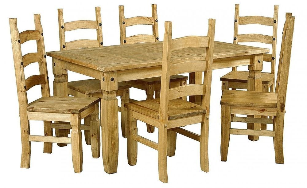 34++ Corona dining table and 6 chairs Ideas
