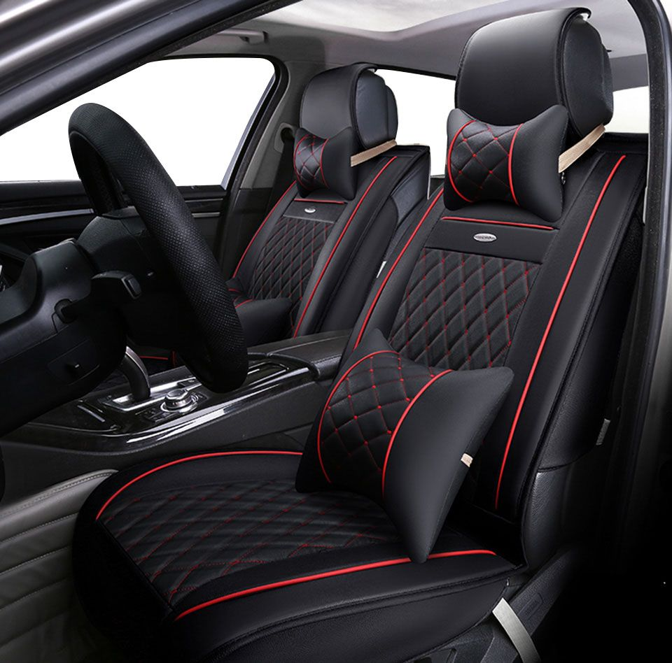 Price:$85.25 Yuzhe Leather Car Seat Cover For Toyota Honda