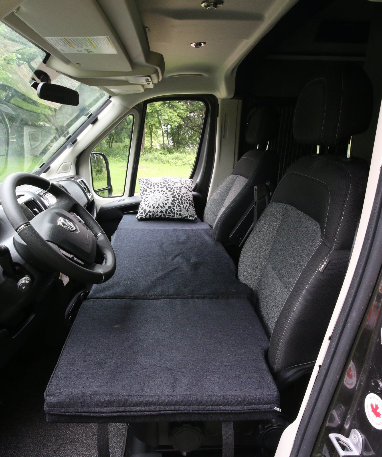 Custom Inflatable Mattress For Front Seats In Development By As