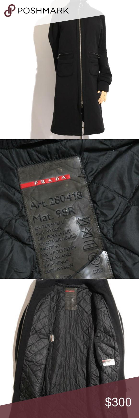 Ladies Authentic Prada Jacket Military Fashion Prada Jacket Lady [ 1740 x 580 Pixel ]