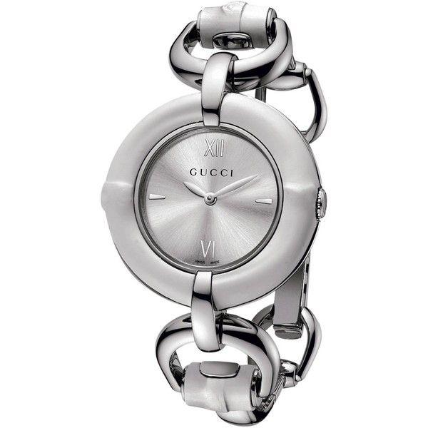 Gucci YA132406 Women's Brushed Dial Bracelet Strap Watch, Silver