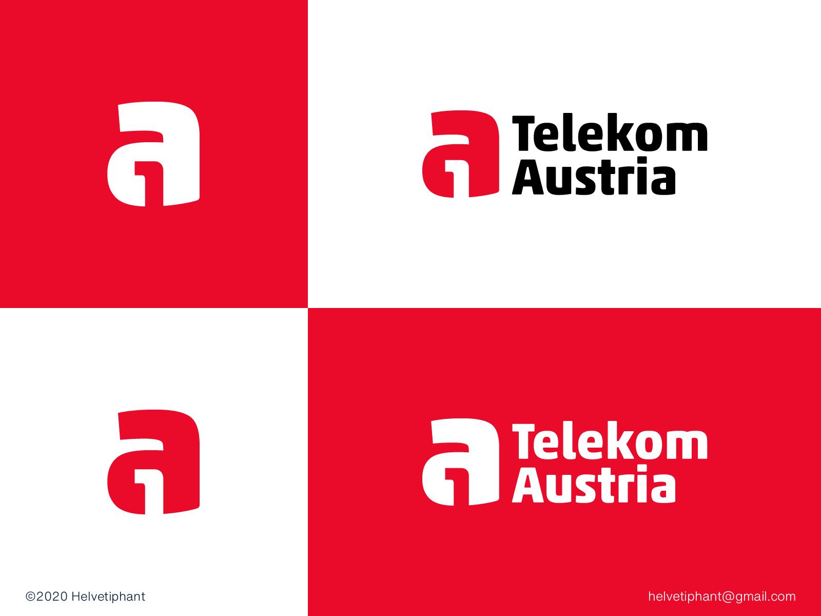 A1 Telekom Austria Proposal In 2020 Negative Space Logos Proposal Design Proposal