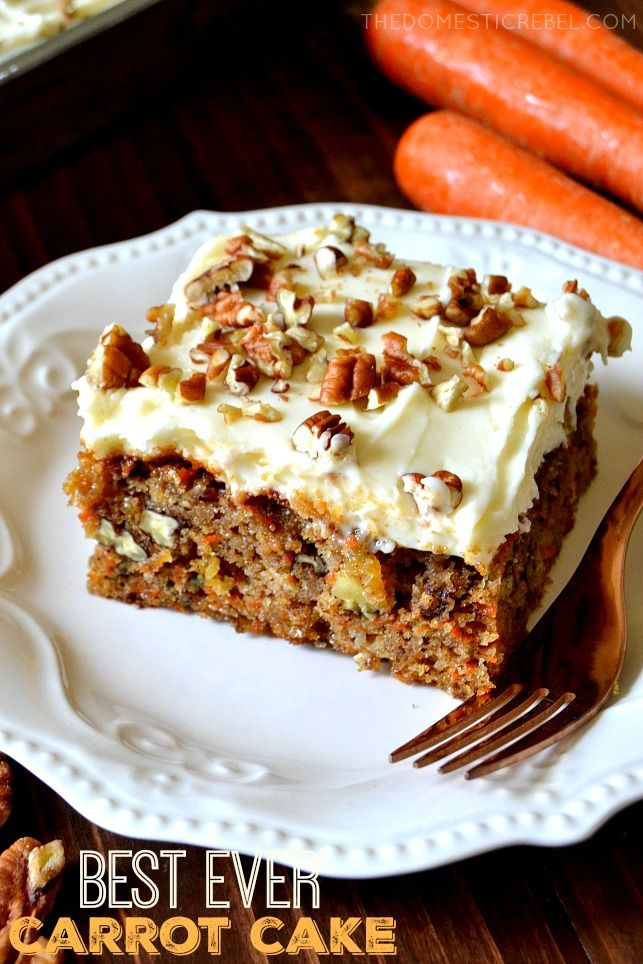 Best Carrot Cake Recipe With Pineapple Cream Cheeses