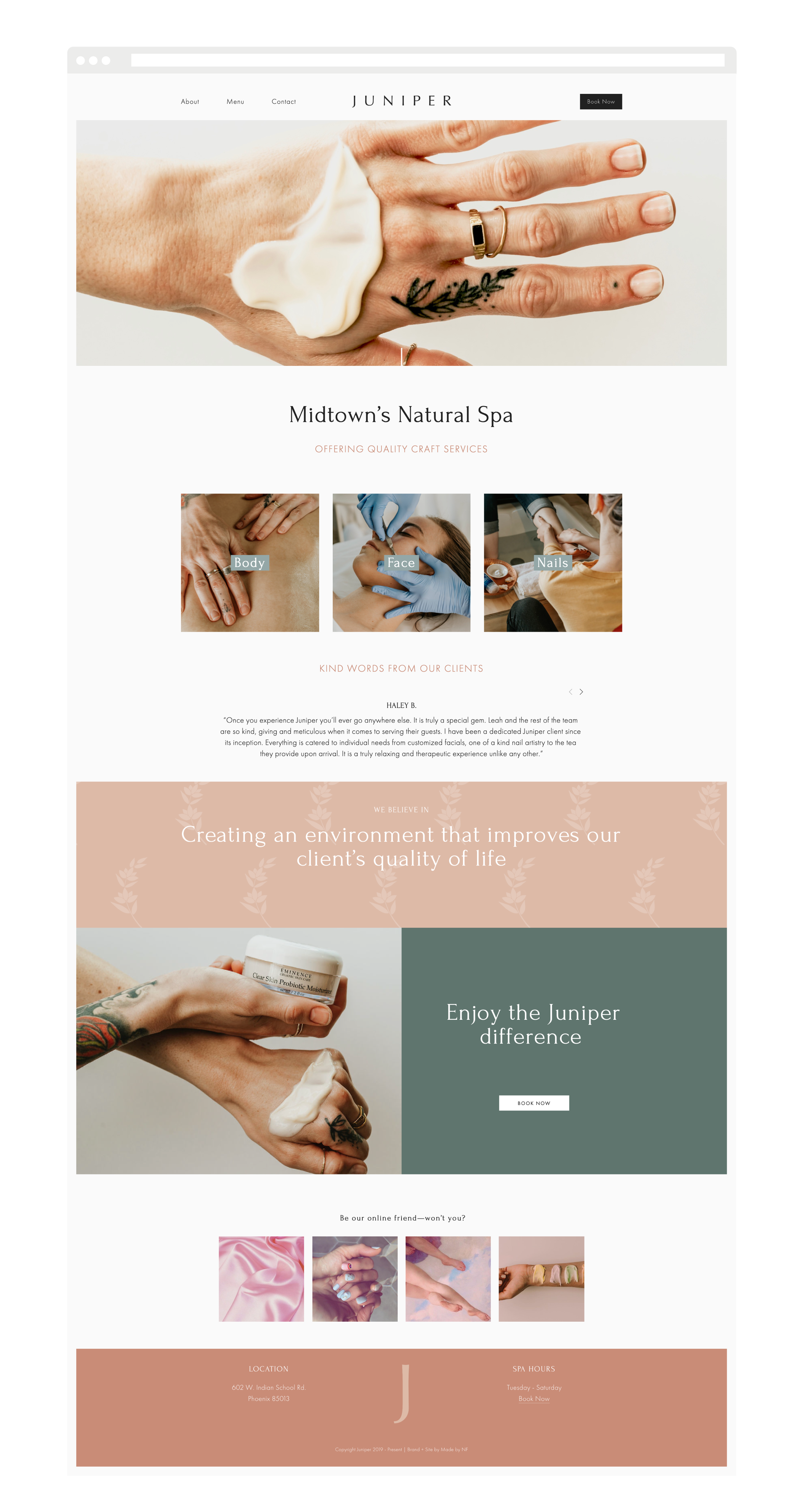 Purposeful Branding Squarespace Website Designer And Brand Photographer Made By Nf Juniper Squarespace Website Design Custom Website Design Website Design Layout