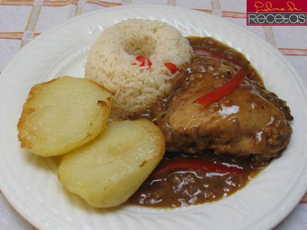 pollo a la coca cola peruano
