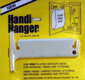Amazon.com   Handi Hanger Trash Bag Holder   Door Mount Trash Can