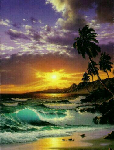 Pin By Paul B On The Island S Seascape Paintings Ocean Art Landscape Paintings