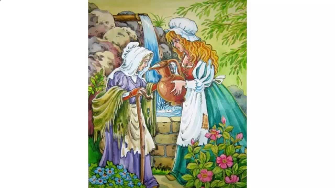основе картинки к сказке шарля перро фея всего них внимания